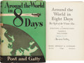 Books:Americana & American History, Wiley Post and Harold Gatty. Around the World in 8 Days.The Flight of the Winnie Mae. New York: Rand McNally &...