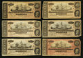 Confederate Notes:1864 Issues, T67 $20 1864 Eighteen Examples.. ... (Total: 18 notes)