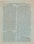 Miscellaneous:Ephemera, [March on Washington]. The Episcopal Society for Cultural andRacial Unity: Group of Five Documents... (Total: 5 )