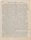 Miscellaneous:Ephemera, [Martin Luther King Jr.]. Typescript: How My Mind Has Changed inthe Last Decade....