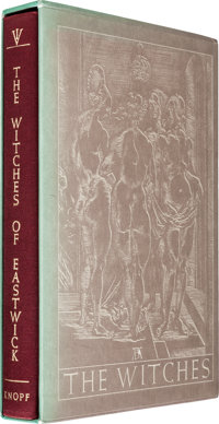 John Updike. The Witches of Eastwick. Knopf, 1984. First Knopf edition, signed and numbered