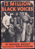 Books:Photography, [Photography]. Richard Wright. 12 Million Black Voices. A Folk History of the Negro in the United States. New York: ...