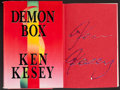 Books:Literature 1900-up, Ken Kesey. Demon Box. [New York]: Viking, [1986]. Firstedition. Signed by Kesey in thick, multi-colored paint (or...