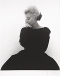 Photographs, BERT STERN (American, 1929-2013). Marilyn in Dior, Vogue, 1962. Digital print. 33-1/2 x 28-1/2 inches (85.1 x 72.4 cm). ...
