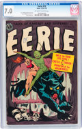 Golden Age (1938-1955):Horror, Eerie #10 (Avon, 1952) CGC FN/VF 7.0 Off-white to white pages....