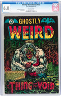 Golden Age (1938-1955):Horror, Ghostly Weird Stories #123 (Star Publications, 1954) CGC FN 6.0Off-white pages....