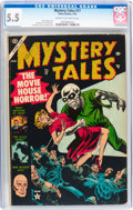 Golden Age (1938-1955):Horror, Mystery Tales #17 (Atlas, 1954) CGC FN- 5.5 Cream to off-whitepages....