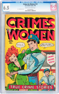 Golden Age (1938-1955):Crime, Crimes by Women #12 (Fox Features Syndicate, 1950) CGC FN+ 6.5 Cream to off-white pages....