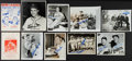 Autographs:Photos, Baseball Greats Signed Wire Photographs And Programs Lot Of 10. ...