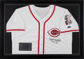 Baseball Collectibles:Uniforms, Frank Robinson Signed Cincinnati Reds Jersey....