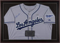 Baseball Collectibles:Uniforms, Tom Lasorda Signed Los Angeles Dodgers Jersey....