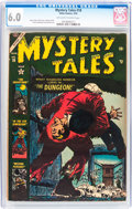 Golden Age (1938-1955):Horror, Mystery Tales #18 (Atlas, 1954) CGC FN 6.0 Off-white to whitepages....