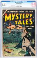 Golden Age (1938-1955):Horror, Mystery Tales #20 (Atlas, 1954) CGC FN+ 6.5 Cream to off-whitepages....