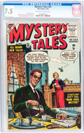 Golden Age (1938-1955):Horror, Mystery Tales #29 (Atlas, 1955) CGC VF- 7.5 Off-white to whitepages....