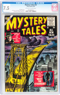 Golden Age (1938-1955):Horror, Mystery Tales #32 (Atlas, 1955) CGC VF- 7.5 Off-white to whitepages....