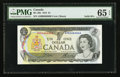 Canadian Currency: , BC-46b $1 1973 Solid Six Serial Number. ...
