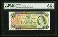 Canadian Currency: , BC-50bA $20 Replacement Note *WN Prefix. ...