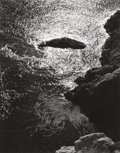 Photographs:20th Century, EDWARD HENRY WESTON (American, 1886-1958). China Cove, PointLobos, 1940. Gelatin silver, printed later by Cole Weston. ...