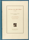 Books:Americana & American History, The Story of the Bill of Rights: An Exhibit. NationalArchives Publication No. 67-4, Washington: 1966. Folio. Printedwr...