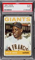 Baseball Cards:Singles (1960-1969), 1964 Topps Willie Mays #150 PSA Mint 9 - Only One Higher....