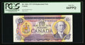 Canadian Currency: , BC-49bA $10 1971 Replacement Note *DR Prefix. ...