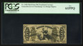Fractional Currency:Third Issue, Fr. 1358 50¢ Third Issue Justice PCGS New 61PPQ.. ...