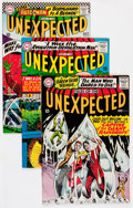 Silver Age (1956-1969):Horror, Tales of the Unexpected Group (DC, 1966-74) Condition: AverageVF.... (Total: 10 Comic Books)