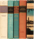 Books:Natural History Books & Prints, [Rivers of America]. Five First Edition Books in the Rivers of America Series. Farrar & Rinehart, 1941-1949. Var... (Total: 5 Items)