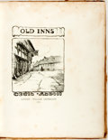 Books:Art & Architecture, Cecil Aldin. Old Inns. London: William Heinemann, 1921. Several color illustrations tipped in throughout. Large quar...