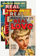 Golden Age (1938-1955):Romance, Real Love Group (Ace Periodicals, 1950-56) Condition: Average VF-.... (Total: 20 Comic Books)