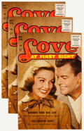 Silver Age (1956-1969):Romance, Love at First Sight #43 Group (Ace, 1956) Condition: Average VF....(Total: 10 Comic Books)