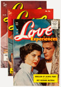 Golden Age (1938-1955):Romance, Love Experiences Group (Ace, 1954-56) Condition: Average FN....(Total: 10 Comic Books)