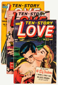 Golden Age (1938-1955):Romance, Ten-Story Love Group (Ace, 1951-56) Condition: Average FN/VF.... (Total: 20 Comic Books)