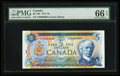 Canadian Currency: , BC-48b $5 1972 Serial Number Nine. ...