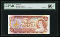 Canadian Currency: , BC-47a $2 1974 Solid Four Serial Number. ...