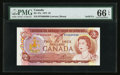 Canadian Currency: , BC-47a $2 1974 Solid Six Serial Number. ...
