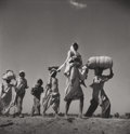 Photographs:20th Century, MARGARET BOURKE-WHITE (American, 1904-1971). Exodus,Pakistan, 1947. Gelatin silver. 11 x 10-5/8 inches (27.9 x 27.1cm)...