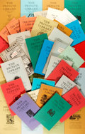 Books:Books about Books, [Books about Books]. Group Lot of Issues of The PrivateLibrary. 1968-1990. Very good. ...