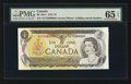 Canadian Currency: , BC-46a-i $1 1973 Fancy Serial Number. ...
