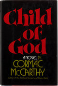 Books:Literature 1900-up, Cormac McCarthy. Child of God. New York: Random House,[1973]. First edition. Inscribed and signed by McCarthy to ...