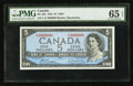 Canadian Currency: , BC-39b $5 1954 Fancy Serial Number. ...