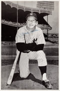 Baseball Collectibles:Photos, 1960's Mickey Mantle Signed Posters Lot of 3. ...