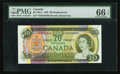 Canadian Currency: , BC-50aA $20 1969 Replacement Note *EH Prefix. ...
