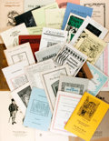 Books:Books about Books, [Bookseller Catalogs]. Group Lot of Bookseller Catalogs. Various dates. Subject matter is primarily fine press and book arts...