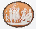 Estate Jewelry:Brooches - Pins, Shell Cameo Brooch. ...