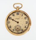 Timepieces:Pocket (post 1900), Jules Jurgensen 18k Gold Five Minute Repeater Pocket Watch For Repair. ...