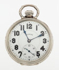 Timepieces:Pocket (post 1900), Illinois 23 Jewel Sangamo Special Stiff Bow Pocket Watch. ...