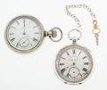 Timepieces:Pocket (post 1900), New Era & J.G. Graves Sheffield Pocket Watches. ... (Total: 2Items)