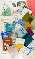 Books:Books about Books, [Bookseller Catalogs]. Dawson Rare Books. Group Lot of Bookseller Catalogs. Various dates. Very good. ...