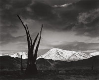 ANSEL ADAMS (American, 1902-1984) Sunrise, Mount Tom, Sierra Nevada from Portfolio VII, 1948 Gelatin